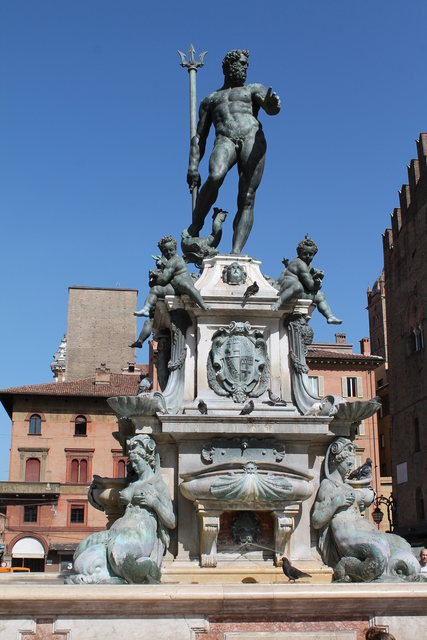 The main fountain