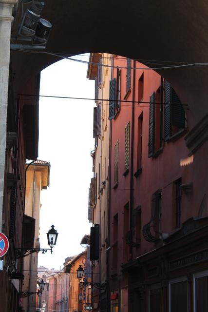 Typical Italian street
