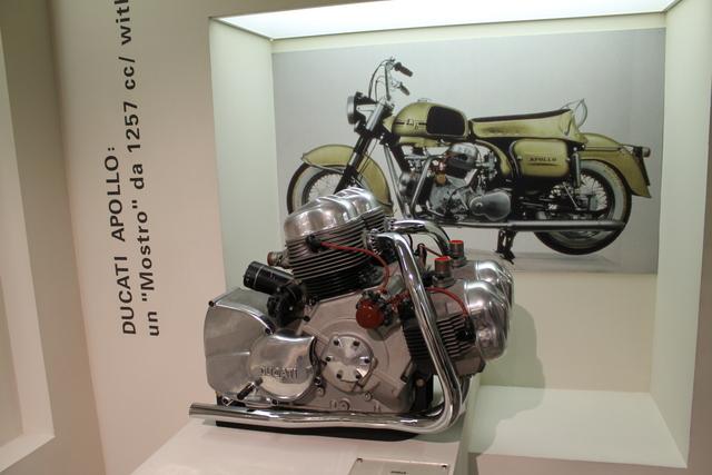 Huge Ducati engine