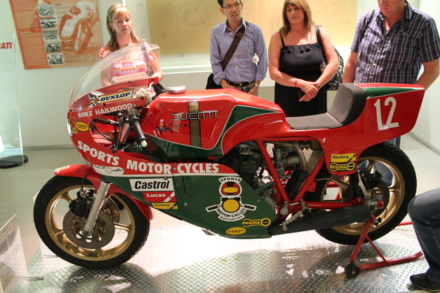 Mike Hailwood race bike