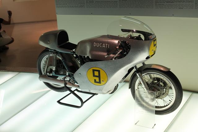 Ducati museum tour