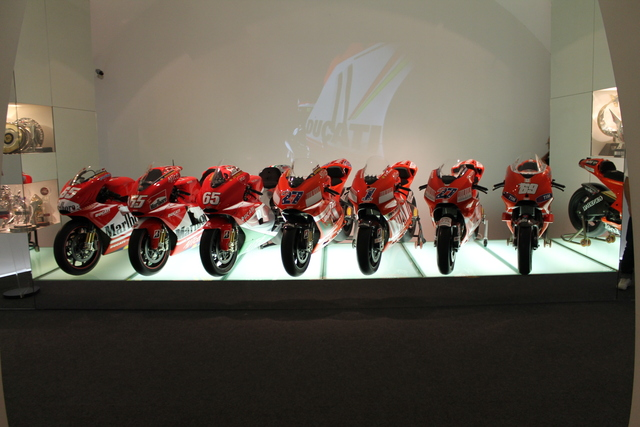 The Ducati Moto GP Room