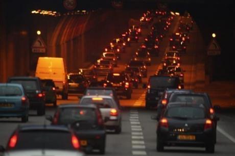 Paris ring road tunnel