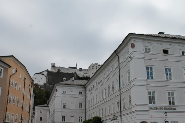 Salzburg, Austria was beautiful