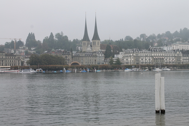 The view over lake lucerne