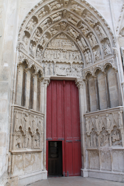 Cathedral in Auxerre