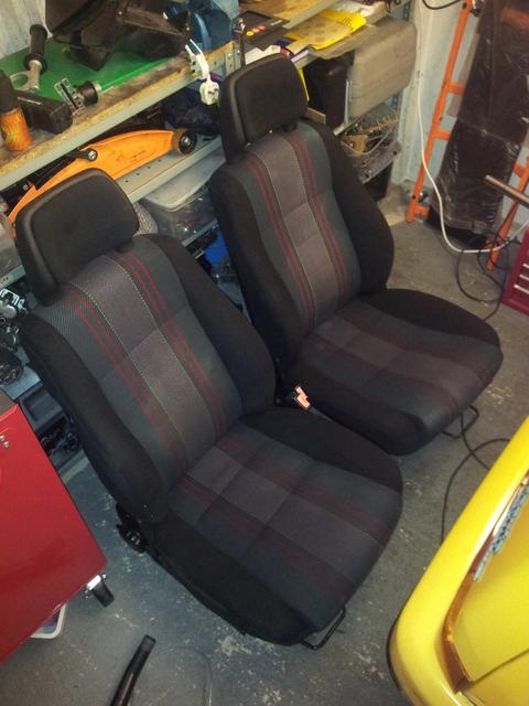 Clean(ish) seats